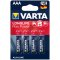 Varta Longlife Max Power AAA; LR03; blister 4ks