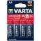 Varta Longlife Max Power AA; LR06; blister 4ks