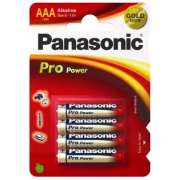 Panasonic Pro Power AAA; LR03; blister 4ks