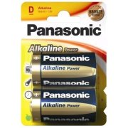 Panasonic Alkaline Power D Bronze; LR20; blister 2 ks