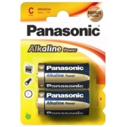 Panasonic Alkaline Power C Bronze;  LR14; blister 2 ks