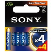 Sony Stamina Plus AAA; LR03; blister 4ks