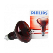 Philips INFRA 100W E27 R95 Red