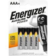 Energizer Alkaline Power AAA; LR03; blister 4 ks