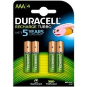 DURACELL Turbo AAA Active ch. 900mAh HR03, blister 4ks
