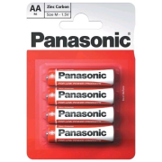 Panasonic Red AA Special; R06;, blister 4ks