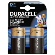 DURACELL ULTRA POWER D; LR20; blister 2ks