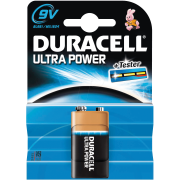 DURACELL ULTRA POWER 9V, blister 1ks